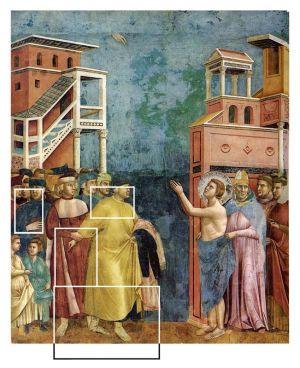 La rinunzia agli averi by Giotto. Assisi. --